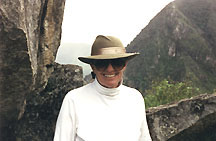 Your Author At Machu Picchu