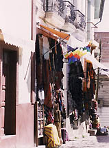 Shopping In The Old City La Paz
